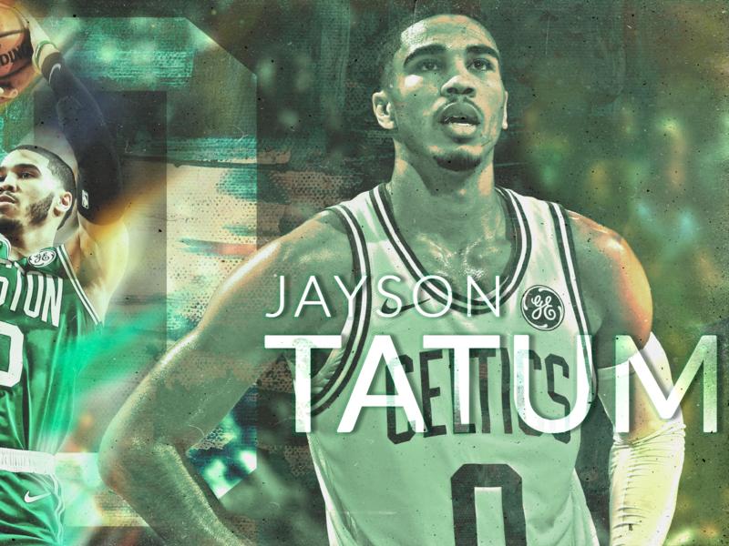 Jayson Tatum hdr toning lightroom nba basketball boston boston celtics sports edit sports fanart photoshop