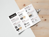Template alert - One page style guide
