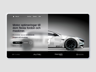 MoaX project website racing freelance engine bmw