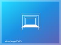 3030 Challlenge. 'A' Letter. Variation 02