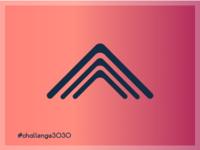3030 Challlenge. 'A' Letter. Variation 03