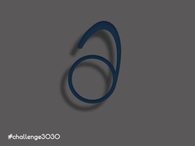 3030 Challlenge. 'A' Letter. Variation 07