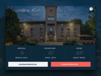 Confirm Reservation DAILY UI 054