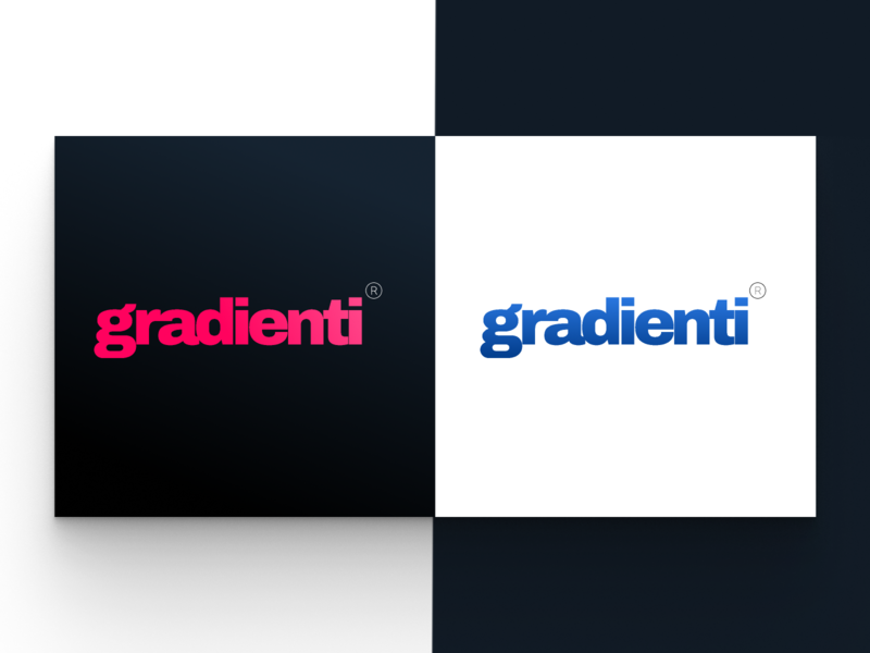 Gradienti is my personal project logo.