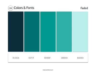 Colors & Fonts
