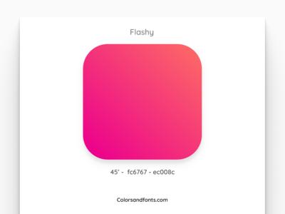 Colors & Fonts - Flashy