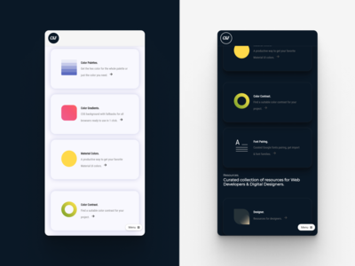 Colors & Fonts - Light vs Dark UI