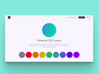 Colors & Fonts - Tailwind CSS Color Picker