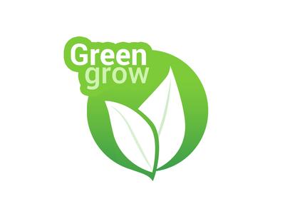GreenGrow - Logo Design