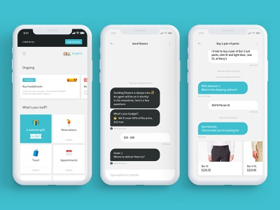 Stuff app handling personal assistant assistant parameters schedule purchase ordering chat ai delegate chief of stuff stuff startup application marketplace app tasks