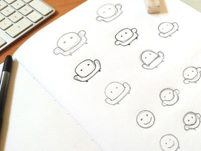 jivi (logo design process) chair funny sketching logo sofa couch potato binge watching branding application b2c yellow startup