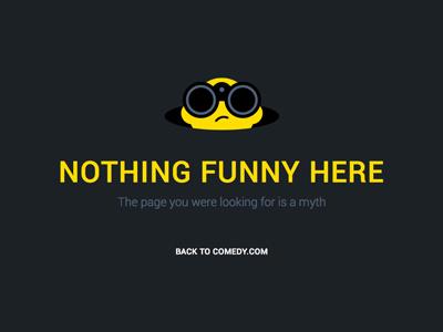 404 humor microcopy sofa nothing myth binocular funny comedy 404