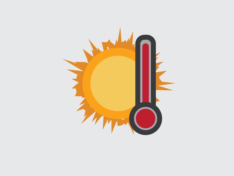 Drawing Challenge #26 warm sun inktober illustration vector weather illustrator