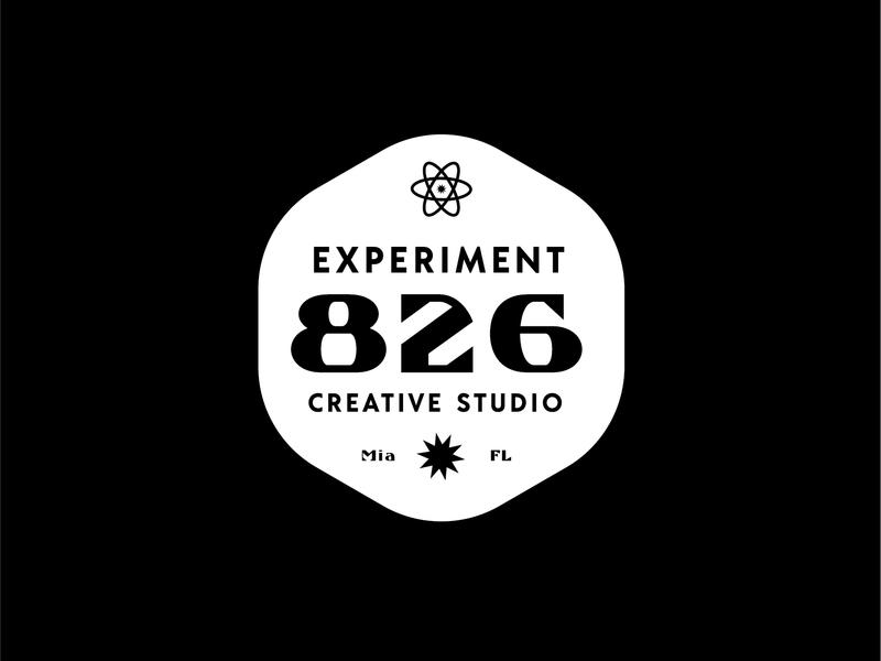 Studio Logo badge logo badge typography miami logo graphic design branding ai vector illustrator