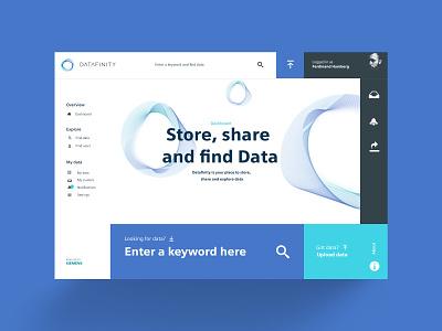 Data sharing dashboard webapplication webdesign userexperiencedesign userexperience uiuxdesign generative dashboard sharing userinterface uiux