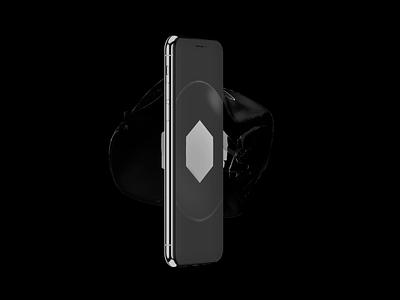 3D Logo exploration futuristic 3d animation hexagon branding logo effect motion 3d art