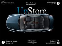 Mercedes Benz UpStore concept