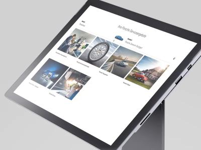 Porsche service finder html service finder porsche clean webdesign automotive configurator webapp html5