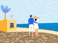We and the coast