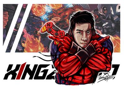 Xing Man 插图 art ps 设计