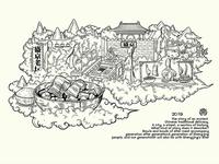 Chinese food inheritance