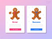 Flash Messages (Success / Error)