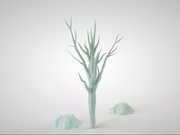 Lowpoly tree WIP