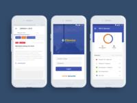 E Service UI Design