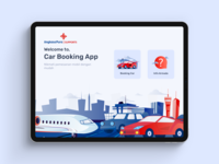 Car Booking App For iPad