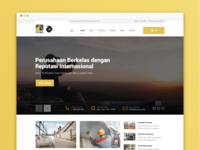 Pama Persada Website Design