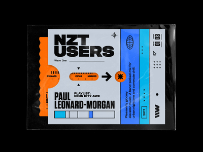 Paul Leonard– Morgan – Nzt Users spotify neon city nzt playlist branding titling gothic 70s symmetry vintage soundtrack limitless rhox bashbashwaves motion design