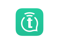 Text Stream - App Icon