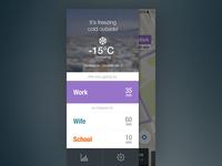 Navigation App Concept