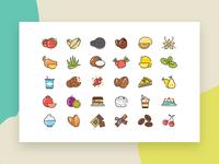 Gelato Flavor Icons
