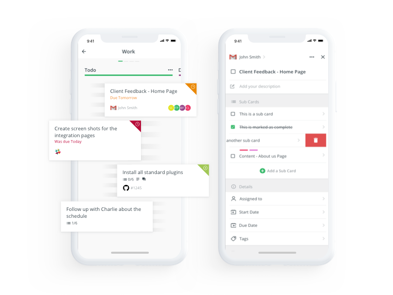 Rindle dribbble features