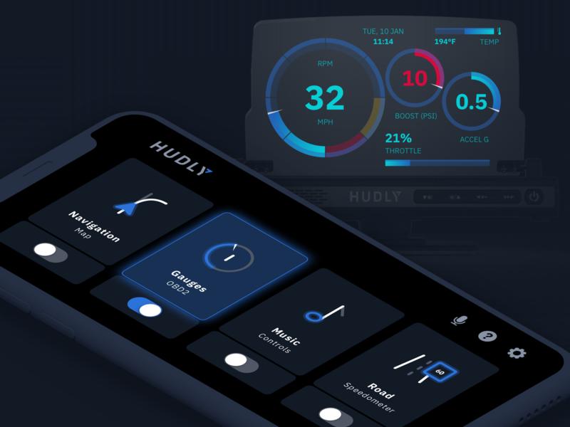 Car Head-up Display safety car dashboard dashboard gauges navigation driving colors car display head-up