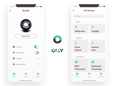 Olly - Personal assistant IoT configuration