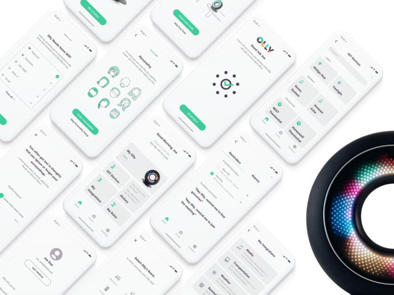AI assistant tailored to your personality reminders alarm robot face recognition voice recognition personal assistant machine learning iot integration app interface