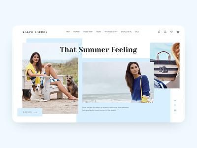 Fashion - Website Design web design clothes fashionable design concept minimalist figma design ux ui fashion