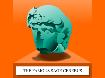 The Famous Sage Cerebus - SoundCloud thumbnail soundcloud cape town story telling thumbnail illustration