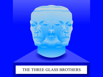 The Glass Brothers - SoundCloud thumbnail soundcloud story telling thumbnail cape town illustration