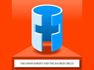 The Good Knight And The Sacred Circle - SoundCloud thumbnail soundcloud cape town story telling thumbnail illustration