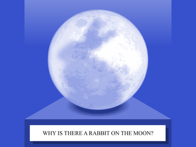 Why Is There A Rabbit On The Moon - SoundCloud thumbnail soundcloud thumbnail illustration story telling cape town