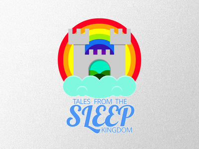 Sleep Kingdom - Tales From The Sleep Kingdom - Logo icon thumbnail logo story telling soundcloud illustration cape town