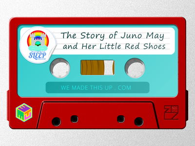 Sleep Kingdom - Juno May And Her Little Red Shoes - Cassette thumbnail story telling soundcloud illustration cape town