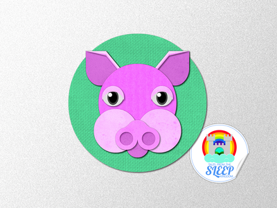 Sleep Kingdom - The Sleep Princess Pig - Paper thumbnail story telling soundcloud illustration cape town