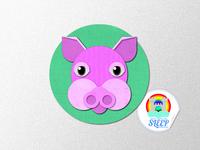 Sleep Kingdom - The Sleep Princess Pig - Paper