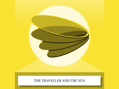 The Traveler And The Sun  - SoundCloud thumbnail thumbnail story telling soundcloud illustration cape town