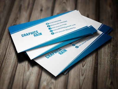 Simple Business Card Design.