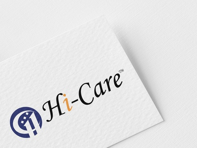 """Hi-Care"" Professional Logo Design."
